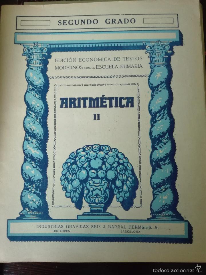 Libros antiguos: GRAN LOTE DE 24 CUADERNILLOS DE ESCUELA DE PRIMARIA - SEIX & BARRAL - BARCELONA - 1933 - - Foto 25 - 60262851