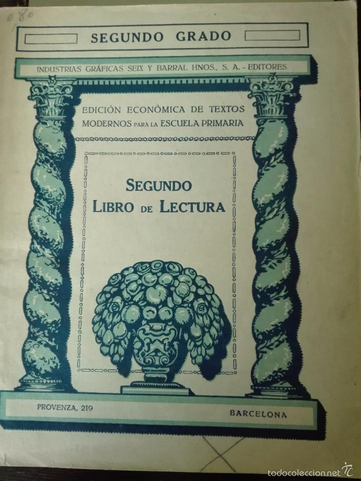 Libros antiguos: GRAN LOTE DE 24 CUADERNILLOS DE ESCUELA DE PRIMARIA - SEIX & BARRAL - BARCELONA - 1933 - - Foto 27 - 60262851