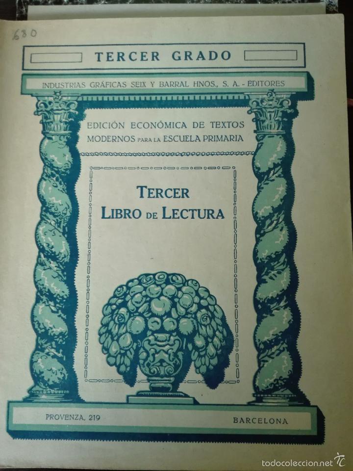 Libros antiguos: GRAN LOTE DE 24 CUADERNILLOS DE ESCUELA DE PRIMARIA - SEIX & BARRAL - BARCELONA - 1933 - - Foto 28 - 60262851