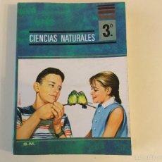 Libros antiguos: CIENCIAS NATURALES 3* BUP. S.M.. Lote 143153416