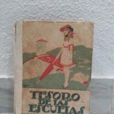 Libros antiguos: LIBRO DE 1876 TESORO DE LAS ESCUELAS EDITORIAL CALLEJA MADRID - ALFONSO XIII. Lote 62016560