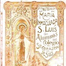Libros antiguos: CONGREGACIÓN DE MARÍA INMACULADA Y SAN LUIS GONZAGA BARCELONA - ANUARIO 1903-1904. Lote 63361660