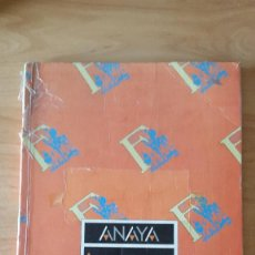 Libros antiguos: LIBRO DE TEXTO - LENGUA - LENGUAJE - 4º EGB ANAYA. Lote 187161362