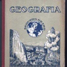 Libros antiguos: GEOGRAFIA SEGUNDO GRADO JOSÉ Mª SIRÉS. ELZEVIRIANA Y LLIBRERIA CAMÍ BARCELONA. Lote 64189835
