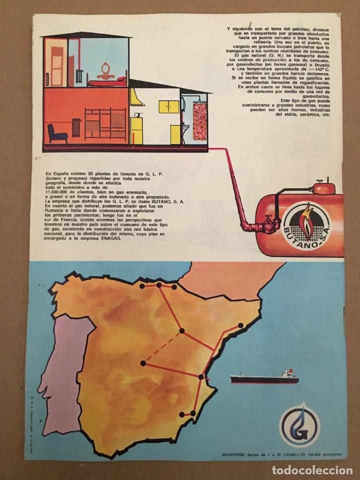 Libros antiguos: CUADERNO ESCOLAR QUIJOTE Y SANCHO CON PUBLICIDAD DE BUTANO - Foto 2 - 194339092