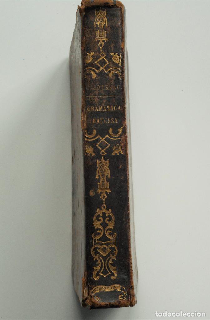 Libros antiguos: NOVÍSIMO CHANTREAU O COMPLETA GRAMÁTICA FRANCESA – D. JUAN ALARCÓN – AÑO 1845 - Foto 2 - 65069035