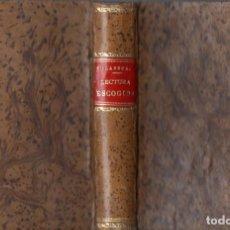 Libros antiguos: VILASECA I RIUS : LECTURA ESCOGIDA PARA ESCUELAS DE INSTRUCCIÓN PRIMARIA (LIB. MONTSERRAT, 1891). Lote 65261635