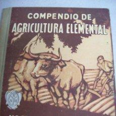 Livros antigos: COMPENDIO DE AGRICULTURA ELEMENTAL. VALERIO SERRA BOLDÚ. AÑO 1928. Lote 65768718