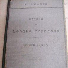 Libros antiguos: LENGUA FRANCESA. 1º CURSO. AÑO 1933. Lote 66828430