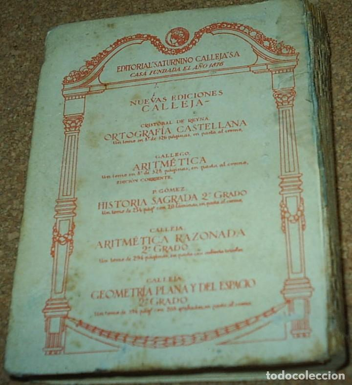 Libros antiguos: DON QUIJOTE DE LA MANCHA- EDICION CALLEJA PARA LAS ESCUELAS, 1905, MUY DIFICIL-606 PG - Foto 5 - 66979366