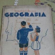 Libros antiguos: LIBRO NOCIONES DE GEOGRAFÍA. DON EZEQUIEL SOLANA. EDITORIAL MAGISTERIO ESPAÑOL. Lote 67023881