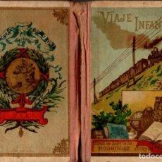 Libros antiguos: M. RODRÍGUEZ MIGUEL . VIAJE INFANTIL HIJOS DE SANTIAGO RODRÍGUEZ, BURGOS 16ª EDICIÓN. Lote 67298177