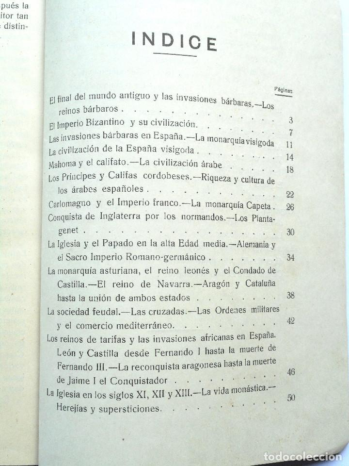 Libros antiguos: TERCER CURSO DE GEOGRAFÍA E HISTORIA – 2ª PARTE HISTORIA – JOSÉ LAFUENTE - ALICANTE - Foto 4 - 69578461