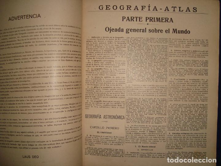 Libros antiguos: ATLAS UNIVERSAL DE 1926 POR F.T.D BARCELONA CUARTO GRADO CON VISTOSOS MAPAS DE LA ÉPOCA - Foto 5 - 69706729
