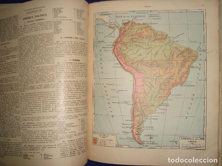 Libros antiguos: ATLAS UNIVERSAL DE 1926 POR F.T.D BARCELONA CUARTO GRADO CON VISTOSOS MAPAS DE LA ÉPOCA - Foto 6 - 69706729
