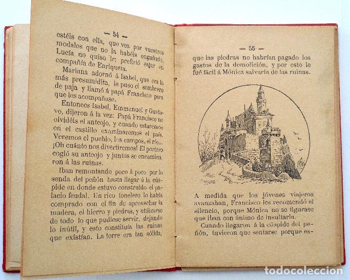 Libros antiguos: ESCENAS FAMILIARES – CANÓNIGO CRISTOBAL SEHMID – BARCELONA 1896 - Foto 5 - 70077437