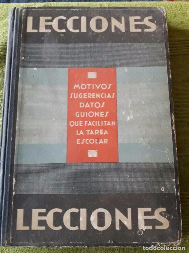 LECCIONES / PUBLICACIÓN PERIÓDICA / EDI. MIGUEL SALVATELLA (Libros Antiguos, Raros y Curiosos - Libros de Texto y Escuela)