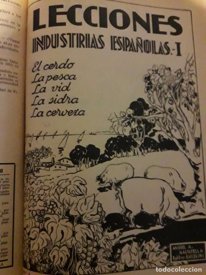 Libros antiguos: LECCIONES / PUBLICACIÓN PERIÓDICA / EDI. MIGUEL SALVATELLA - Foto 4 - 70377001