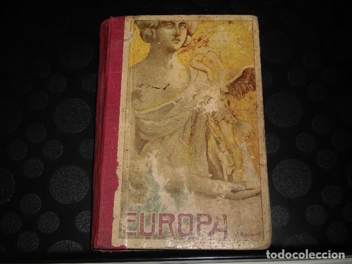 EUROPA.EL SEGUNDO MANUSCRITO.JOSE DALMAU CARLES 1915 (Libros Antiguos, Raros y Curiosos - Libros de Texto y Escuela)