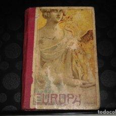 Libros antiguos: EUROPA.EL SEGUNDO MANUSCRITO.JOSE DALMAU CARLES 1915. Lote 277673458