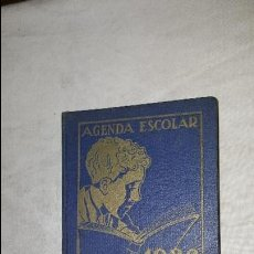 Libros antiguos: AGENDA ESCOLAR BASTINOS - 1936. Lote 73590207