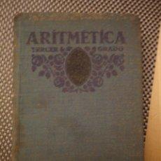 Libros antiguos: ARITMETICA TERCER GRADOFTDED. FTD1931 11ª ED.480PÁGINAS. Lote 74160935