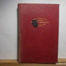 Libros antiguos: NUEVOS MODELOS DE CARTAS - 1934.. Lote 75247059