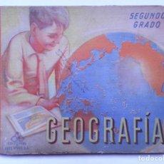 Libros antiguos: GEOGRAFÍA. SEGUNDO GRADO. EDITORIAL LUIS VIVES 1948. Lote 77218421