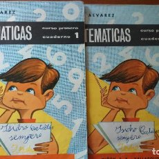 Libros antiguos: MATEMATICAS 1 Y 2 CURSO DE ALVAREZ. Lote 77405709