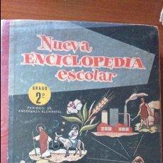Libros antiguos: NUEVA ENCICLOPEDIA ESCOLAR, GRADO SEGUNDO, HIJOS DE SANTIAGO RODRIGUEZ. AÑO 1963. Lote 77407465