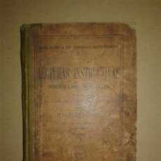 Libros antiguos: LECTURAS INSTRUCTIVAS. Lote 79248265