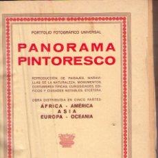 Libros antiguos: PANORAMA PINTORESCO *** AFRICA ** AMERICA ** ASIA ** EUROPA ** OCEANIA. Lote 80730570
