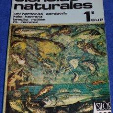 Libros antiguos: CIENCIAS NATURALES 1 - SILOS. Lote 81724536