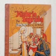 Libros antiguos: ANTIGUO LIBRO DE ESCUELA DE HISTORIA SAGRADA. HIJOS SANTIAGO RODRÍGUEZ . BURGOS. 1954. Lote 82716552