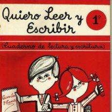Libros antiguos: CUADERNOS DE LECTURA Y ESCRITURA DE SANTIAGO RODRIGUEZ. Lote 83909592