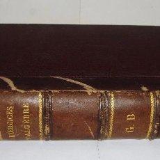 Libros antiguos: EXERCISES D´ALGEBRE. EJERCICIOS DE ÁLGEBRA. 1908. Lote 85065052