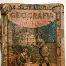 Libros antiguos: GEOGRAFIA PARA NIÑOS DE CALLEJA AÑO 1918. Lote 85274400