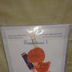 Libros antiguos: CARTILLA FICHAS PREESCOLAR I EDUCACIÓN PREESCOLAR - HIJOS DE SANTIAGO RODRÍGUEZ - SERIE PATO ROJO. Lote 85487680