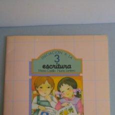 Libros antiguos: INICIACION A LA ESCRITURA 3 EDITORIAL SM 1985. Lote 86542508