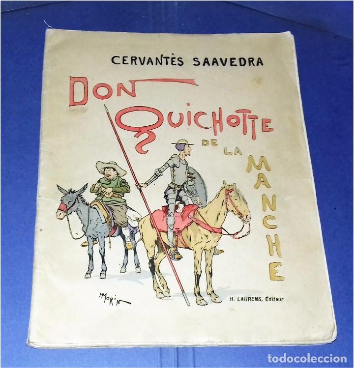 DON QUICHOTTE DE LA MANCHE. ILLUSTRATIONS DE HENRI MORIN. (1929) (Libros Antiguos, Raros y Curiosos - Libros de Texto y Escuela)