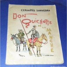 Libros antiguos: DON QUICHOTTE DE LA MANCHE. ILLUSTRATIONS DE HENRI MORIN. (1929) . Lote 86923516