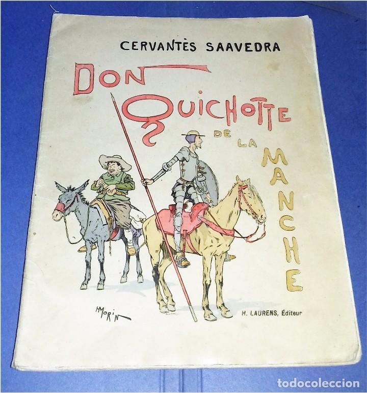 Libros antiguos: Don Quichotte de la Manche. Illustrations de Henri Morin. (1929) - Foto 2 - 86923516