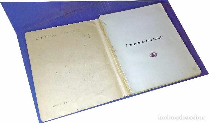 Libros antiguos: Don Quichotte de la Manche. Illustrations de Henri Morin. (1929) - Foto 3 - 86923516