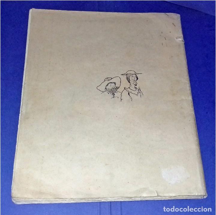 Libros antiguos: Don Quichotte de la Manche. Illustrations de Henri Morin. (1929) - Foto 4 - 86923516