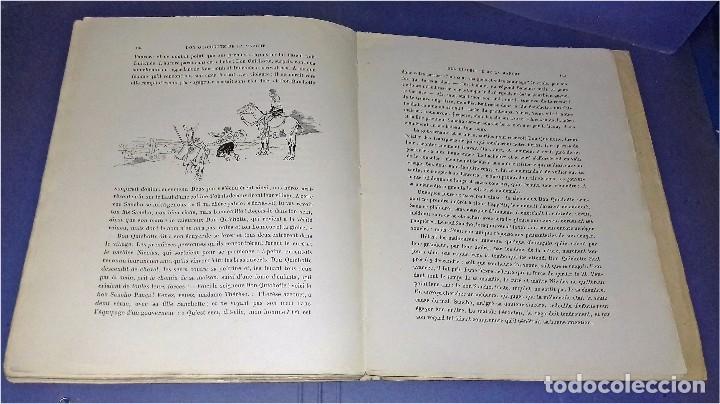 Libros antiguos: Don Quichotte de la Manche. Illustrations de Henri Morin. (1929) - Foto 6 - 86923516
