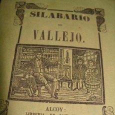 Libros antiguos: RARÍSIMO SILABARIO INFANTIL IMPRESO EN ALCOY POR EL PRIMER IMPRESOR DE LA LOCALIDAD. XILOGRAFÍA.. Lote 87238436