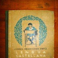 Libros antiguos: LENGUA CASTELLANA. GRADO ELEMENTAL. Lote 88283776