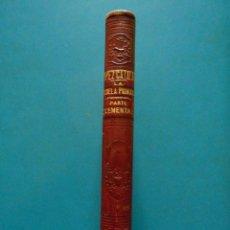 Libros antiguos: LA ESCUELA PRIMARIA. PARTE ELEMENTAL. JULIAN LOPEZ CATALAN. J. BASTINOS E HIJO EDITORIES. 1874. Lote 88902892
