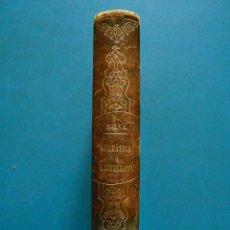 Libros antiguos: GRAMATICA DE LA LENGUA CASTELLANA SEGUN AHORA SE HABLA. VICENTE SALVA. 9ª EDICION 1854. 471P.. Lote 88912468