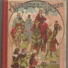 Libros antiguos: MANUSCRITO DEL PARVULITO POR D. ROQUE GRAU RIERA ED 1928 IMPRENTA CASA DE LA CARIDAD . Lote 90108336